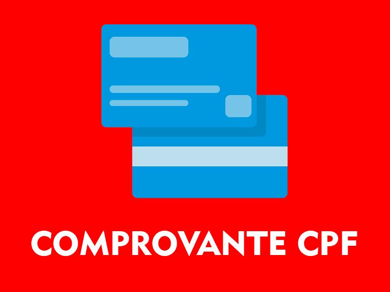 Comprovante de CPF