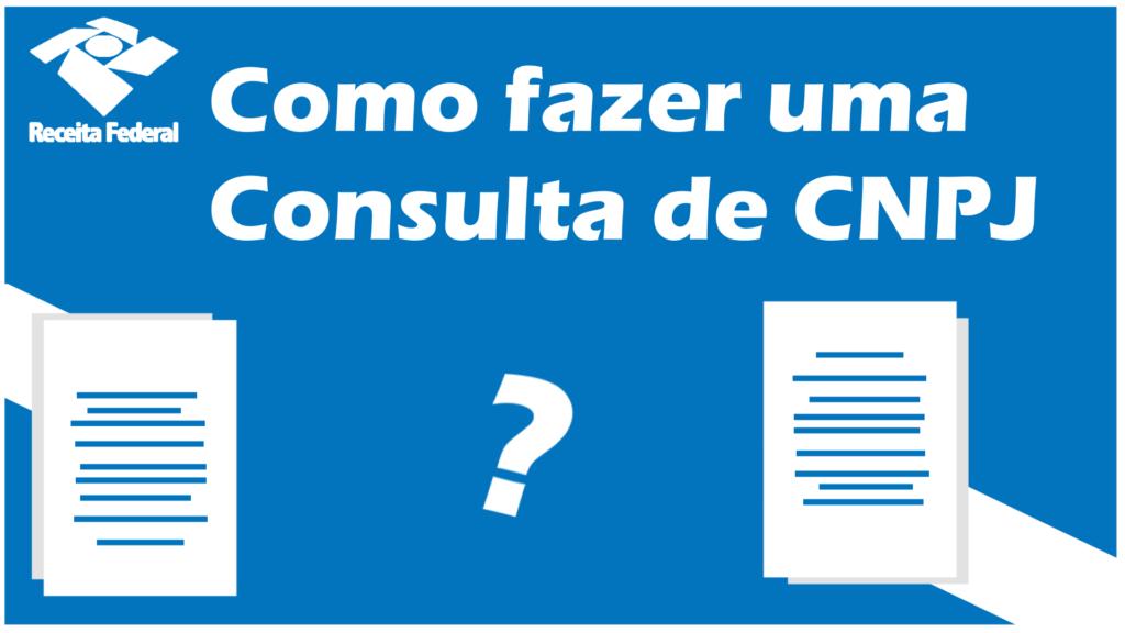 Consulta CNPJ pelo CPF