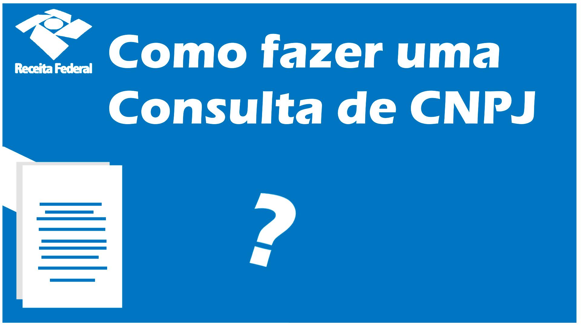 Consulta CNPJ 2022