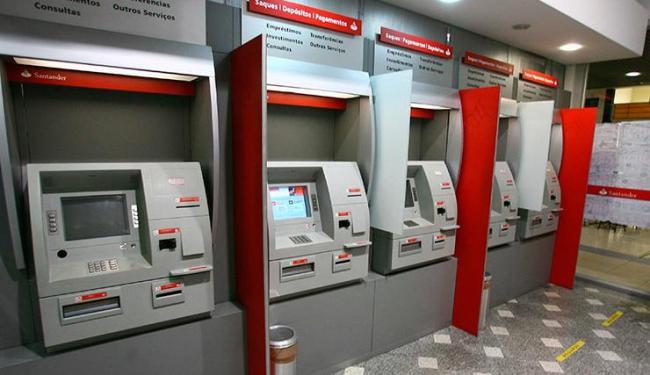 Caixa Eletrônico Santander