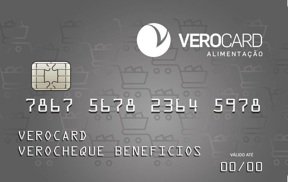VeroCard Alimentação Saldo